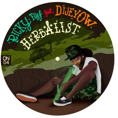 Ricky Tuff Feat. Dijeyow : Herbalist | Maxi / 10inch / 12inch  |  Jungle / Dubstep