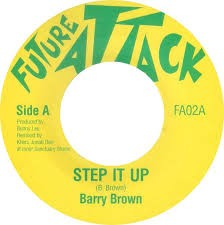 Barry Brown : Step It Up | Single / 7inch / 45T  |  UK