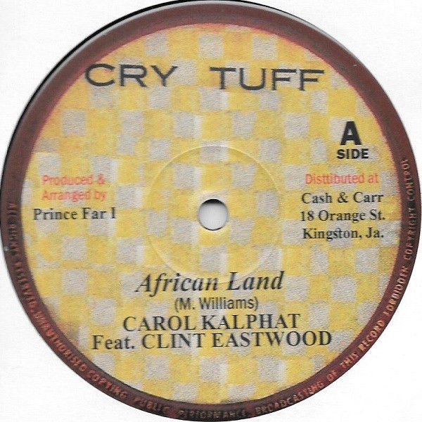 Carol Kalphat Feat. Clint Eastwood : African Land | Maxi / 10inch / 12inch  |  Oldies / Classics