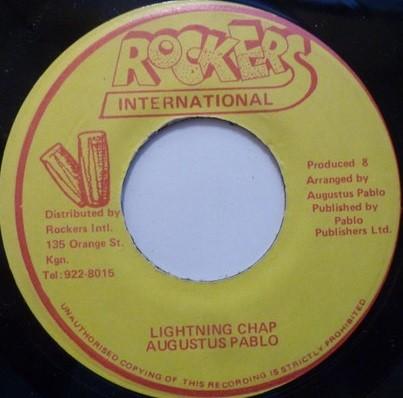 Augustus Pablo : Lightning Chap