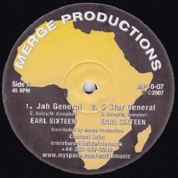 Earl Sixteen : Jah General   Maxi / 10inch / 12inch     UK