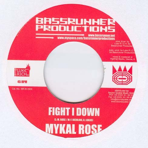 Michael Rose : Fight I Down | Single / 7inch / 45T  |  Dancehall / Nu-roots