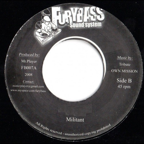 Michael Rose : Never Let Babylon Fool You | Single / 7inch / 45T  |  Dancehall / Nu-roots