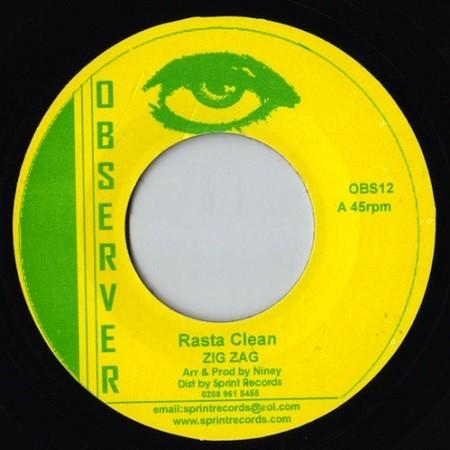 Zig Zag : Rasta Clean | Single / 7inch / 45T  |  Oldies / Classics