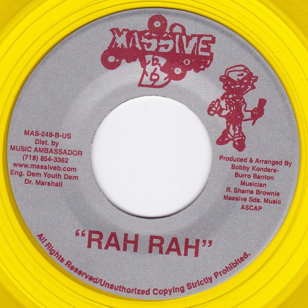 Vybz Kartel : Push It To You | Single / 7inch / 45T  |  Dancehall / Nu-roots