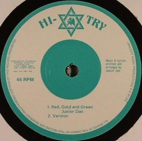 Junior Dan : Red Gold & Green | Maxi / 10inch / 12inch  |  Oldies / Classics