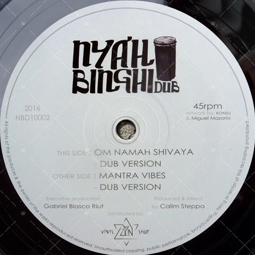 Calim Steppa : Om Namah Shivaya | Maxi / 10inch / 12inch  |  FR