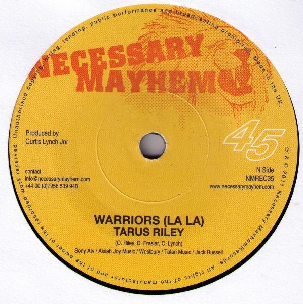 Tarrus Riley : Warriors ( La La ) | Single / 7inch / 45T  |  Dancehall / Nu-roots