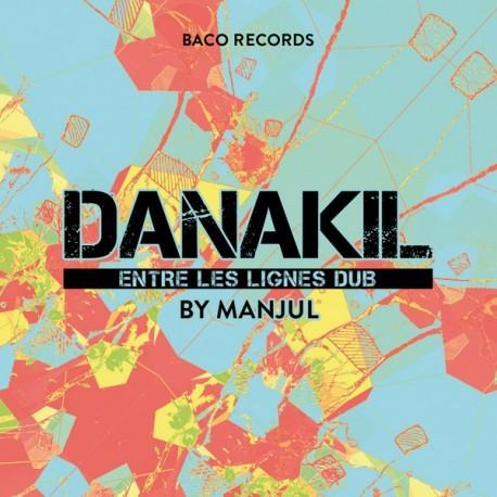 Danakil : Entre Les Lignes Dub By Manjul   LP / 33T     UK