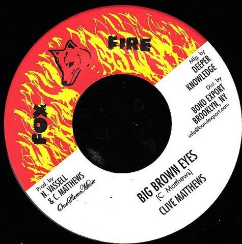 Clive Matthews : Big Brown Eyes | Single / 7inch / 45T  |  Oldies / Classics