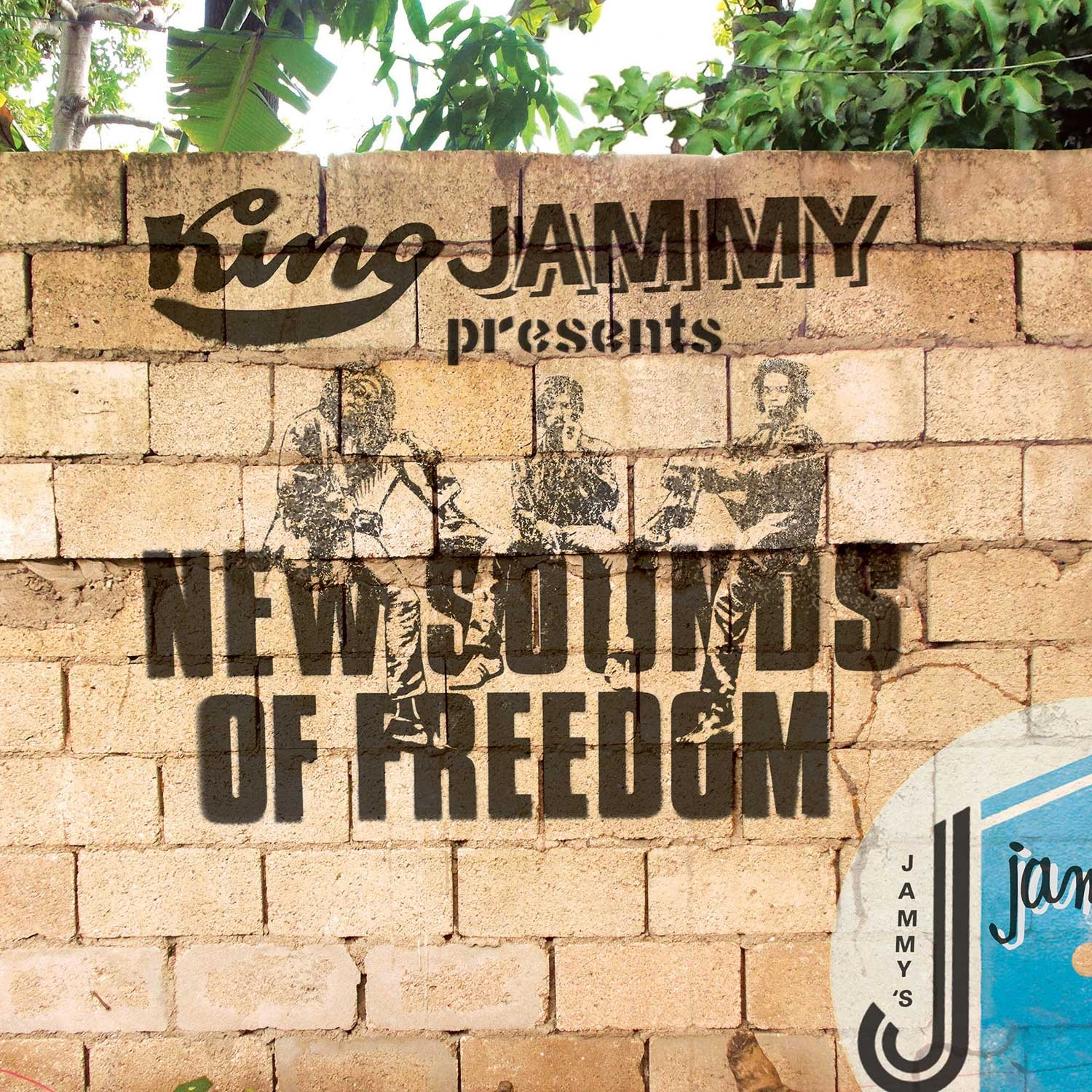 Various : King Jammys Presents New Sounds Of Freedom | LP / 33T  |  Dancehall / Nu-roots