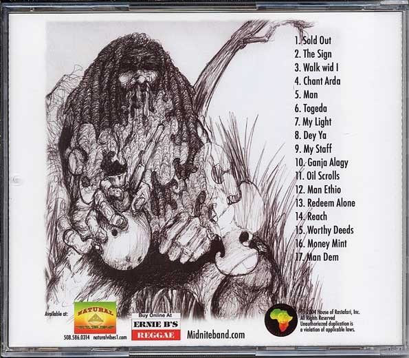 Midnite - Ras L Collaboration : Full Cup   CD     Dancehall / Nu-roots