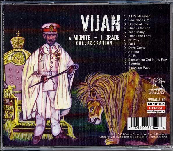 Midnite - I grade Collaboration : Vijan | CD  |  Dancehall / Nu-roots