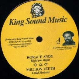 Horace Andy : Right You Right | Maxi / 10inch / 12inch  |  Dancehall / Nu-roots