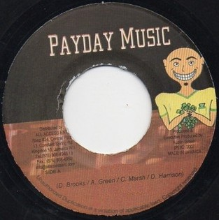 Busy Signal : Gone A Lead | Single / 7inch / 45T  |  Dancehall / Nu-roots