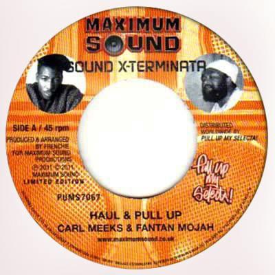 Carl Meeks & Fantan Mojah : Haul & Pull Up | Single / 7inch / 45T  |  Dancehall / Nu-roots
