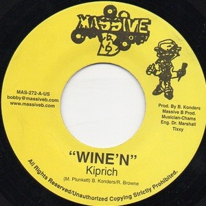 Kiprich : Wine'n | Single / 7inch / 45T  |  Dancehall / Nu-roots