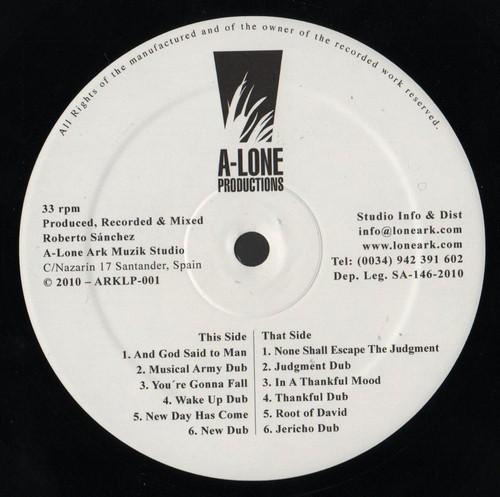 Earl Zero : And God Said To Man | LP / 33T  |  Oldies / Classics