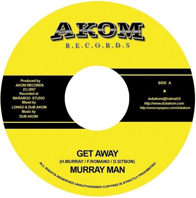 Murray Man : Get Away | Single / 7inch / 45T  |  UK