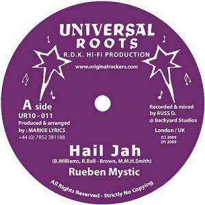 Rueben Mystic : Hail Jah   Maxi / 10inch / 12inch     UK