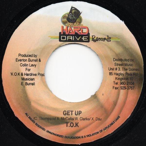 Tok : Get Up   Single / 7inch / 45T     Dancehall / Nu-roots
