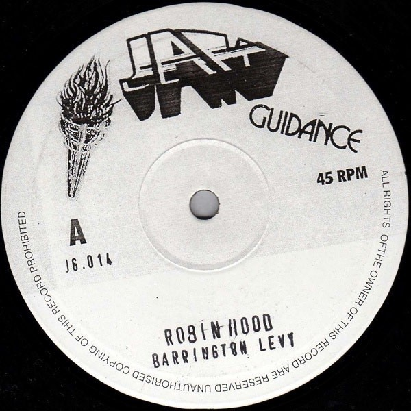 Barrington Levy : Robin Hood | Maxi / 10inch / 12inch  |  Oldies / Classics