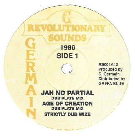 Revolutionaries : Jah No Partial   Maxi / 10inch / 12inch     Oldies / Classics