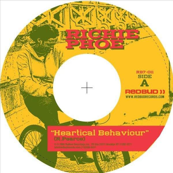 Richie Phoe : Heartical Behaviour   Single / 7inch / 45T     UK