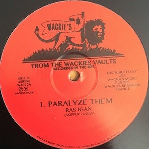 Ras Igan : Paralyze Them | Maxi / 10inch / 12inch  |  Oldies / Classics