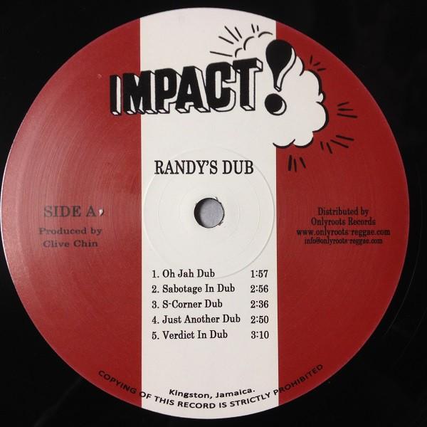 Clive Chin : Randy's Dub | LP / 33T  |  Oldies / Classics