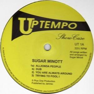 Sugar Minott : All Kinda People + Dub | Maxi / 10inch / 12inch  |  Oldies / Classics