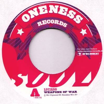 Luciano : Weapons Of War | Single / 7inch / 45T  |  Dancehall / Nu-roots