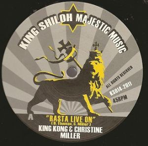 King Kong & Christine Miller : Rasta Live On