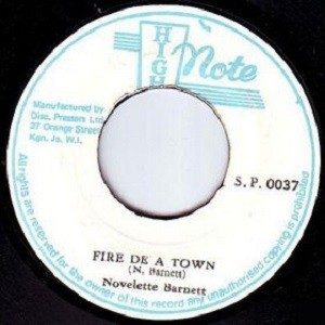 Novelette Barnett : Fire De A Town | Single / 7inch / 45T  |  Oldies / Classics