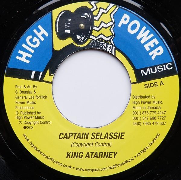 King Atarney : Captain Selassie | Single / 7inch / 45T  |  Dancehall / Nu-roots