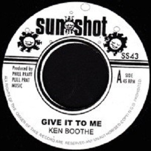 Ken Boothe : Give It To Me | Single / 7inch / 45T  |  Oldies / Classics