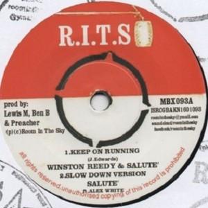 Winston Reedy &  Salute : Keep On Running | Single / 7inch / 45T  |  Oldies / Classics