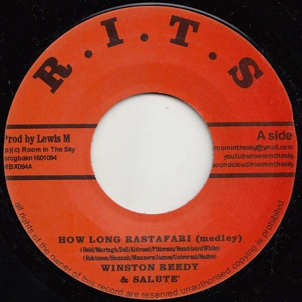 Winston Reedy & Salute : How Long Rastafari ( Medley ) | Single / 7inch / 45T  |  Oldies / Classics