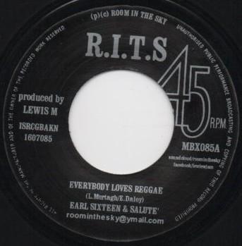 Earl Sixteen &  Salute : Everybody Loves Reggae | Single / 7inch / 45T  |  Dancehall / Nu-roots