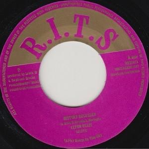 Alton Ellis : History Recalled | Single / 7inch / 45T  |  Oldies / Classics
