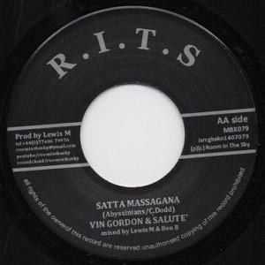 Vin Gordon &  Salute : Liberty Horn | Single / 7inch / 45T  |  Dancehall / Nu-roots