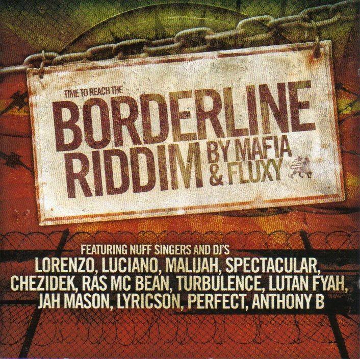 Various : Borderline By Mafia & Fluxy   LP / 33T     One Riddim