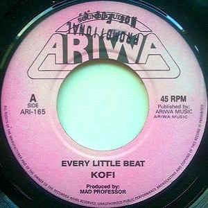 Kofi : Every Little Beat | Single / 7inch / 45T  |  UK