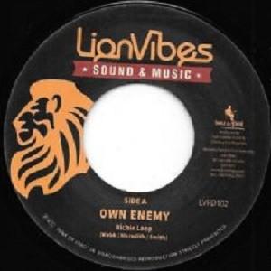 Richie Loop : Own Enemy   Single / 7inch / 45T     Dancehall / Nu-roots