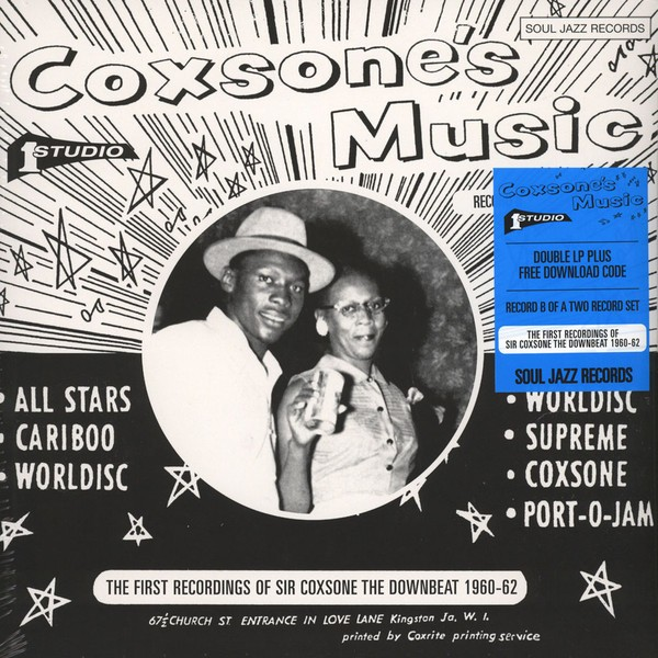 Various : Coxsone's Music ( The First Recordings Of Sir Coxsone The Downbeat 1960-62)