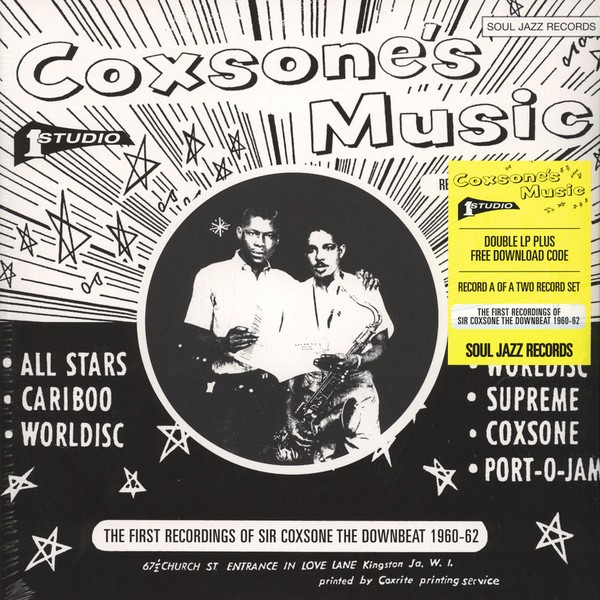 Various : Coxsone's Music (The First Recordings Of Sir Coxsone The Downbeat 1960-62) | LP / 33T  |  Oldies / Classics