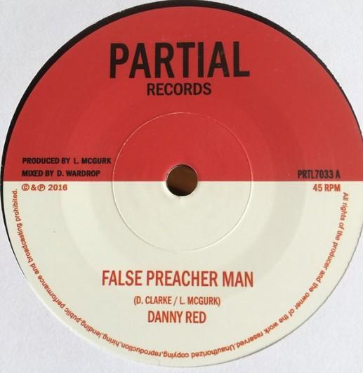 Danny Red : False Preacher Man | Single / 7inch / 45T  |  UK