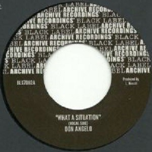 Don Angelo : What A Situation | Single / 7inch / 45T  |  Oldies / Classics