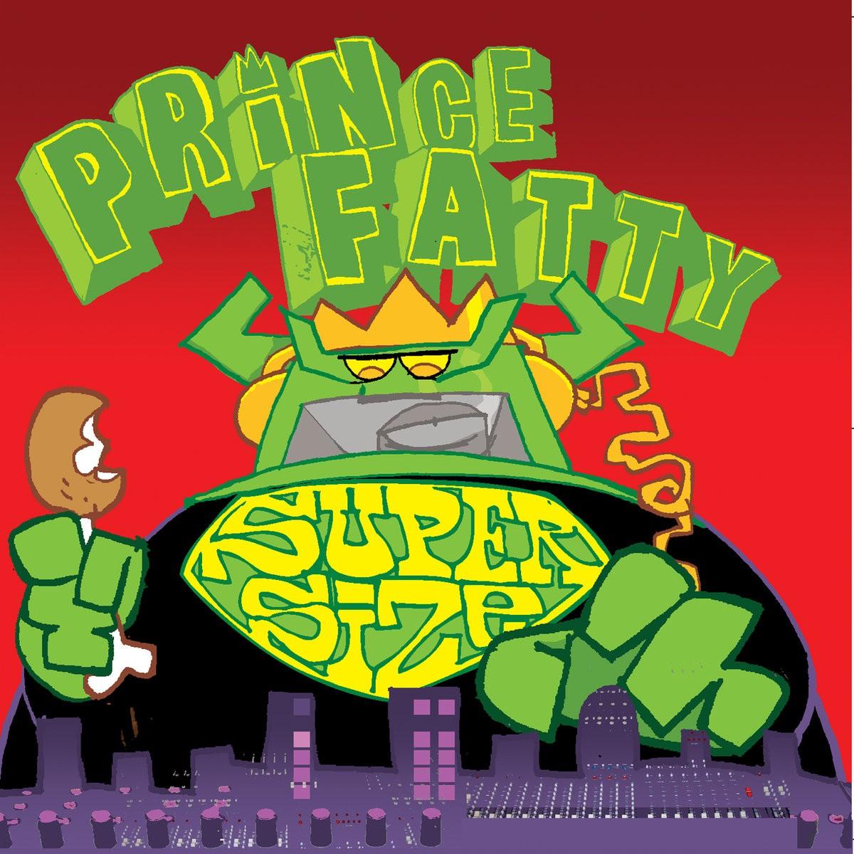 Various Little Roy , Dennis Alcapone , Winston Francis : Prince Fatty Supersize