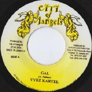 Vybz Kartel : Gal | Single / 7inch / 45T  |  Dancehall / Nu-roots